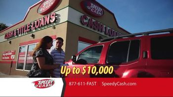 Speedy Cash TV Spot, 'Keep Your Keys and Your Car'