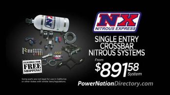 PowerNation Directory TV Spot, \'Nitrous Systems & Rallye Wheels\'