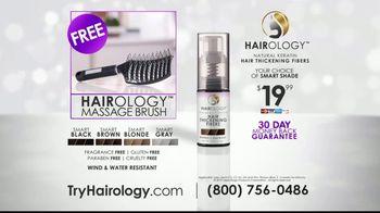 Hairology Hair Thickening Fibers TV Spot, 'Thinning Hair: Massage Brush' - Thumbnail 8
