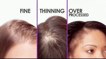 Hairology Hair Thickening Fibers TV Spot, 'Thinning Hair: Massage Brush'