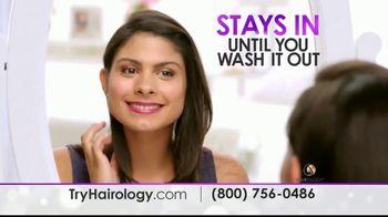 Hairology Hair Thickening Fibers TV Spot, 'Thinning Hair: Massage Brush' - Thumbnail 5