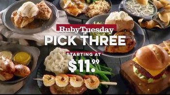 Ruby Tuesday Pick Three TV Spot, 'Starting at Just $11.99' - Thumbnail 2