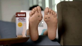 Kerasal Intensive Foot Repair TV Spot, 'Heel Talk' - Thumbnail 1