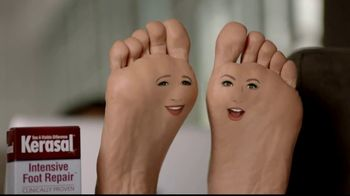 Kerasal Intensive Foot Repair TV Spot, \'Heel Talk\'