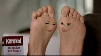 Kerasal Intensive Foot Repair TV Spot, 'Heel Talk' - Thumbnail 5