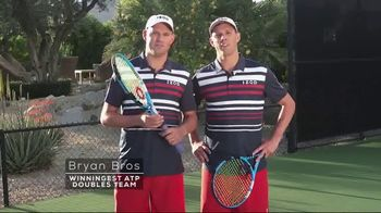 Tennis Warehouse TV Spot, 'Pros Shop' Featuring the Bryan Brothers, Kristie Ahn, Marcos Giron - Thumbnail 2