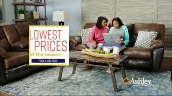 Ashley HomeStore Lowest Prices of the Season TV Spot, 'Sofas and Sectionals' Song by Midnight Riot - Thumbnail 9