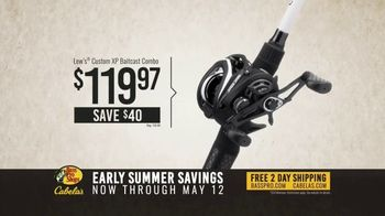 Bass Pro Shops Early Summer Savings TV Spot, 'Baitcast Combo and ChatterBait'