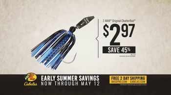 Bass Pro Shops Early Summer Savings TV Spot, 'Baitcast Combo and ChatterBait' - Thumbnail 9