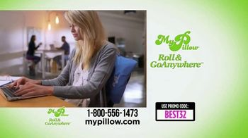 My Pillow Roll & GoAnywhere TV Spot, 'Best Day Ever' - Thumbnail 7