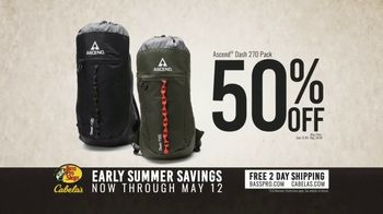 Bass Pro Shops Summer Savings TV Spot, 'Men's Henleys and Ascend Dash Packs' - Thumbnail 4