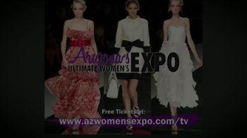 Arizona's Ultimate Women's Expo TV Spot, '2019 Phoenix Convention Center: Free Tickets' - Thumbnail 1