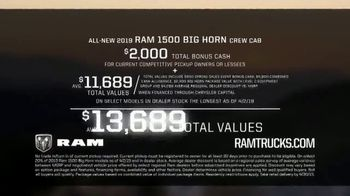 Ram Trucks Spring Sales Event TV Spot, 'Truck of the Year' Song by A Thousand Horses [T2] - Thumbnail 7
