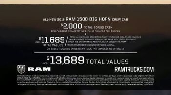 Ram Trucks Spring Sales Event TV Spot, 'Truck of the Year' Song by A Thousand Horses [T2] - Thumbnail 8