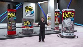Flex Seal TV Spot, 'Family of Products: Coat, Patch, Seal & Repair' - Thumbnail 1