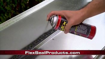 Flex Seal TV Spot, 'Family of Products: Coat, Patch, Seal & Repair'