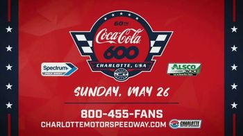 Charlotte Motor Speedway TV Spot, '2019 Coca-Cola 600: 60th Running: The Most Patriotic Day in Racing' Song by Cheap Trick - Thumbnail 9