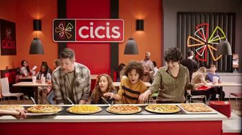 CiCi's Unlimited Pizza Buffet TV Spot, 'Pizza, pizza, pizza' [Spanish] - Thumbnail 5