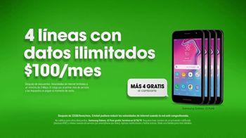 Cricket Wireless TV Spot, 'Secreto: Samsung Galaxy J2' [Spanish] - Thumbnail 7