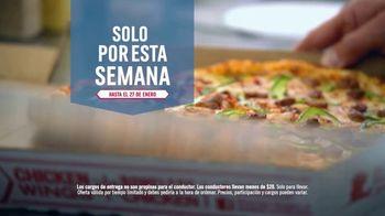 Domino's Large Two-Topping Pizza TV Spot, 'Oferta por solamente una semana' [Spanish]