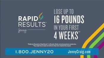 Jenny Craig Rapid Results TV Spot, 'Sheilla: $100 for $100' - Thumbnail 3