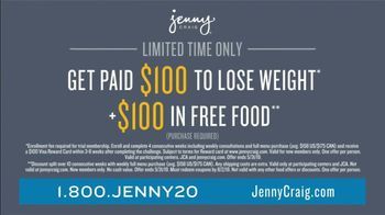 Jenny Craig Rapid Results TV Spot, 'Sheilla: $100 for $100' - Thumbnail 5