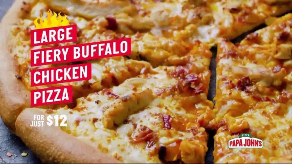 Papa John's TV Commercial, 'On Fire' Song by Ohio Players - Video