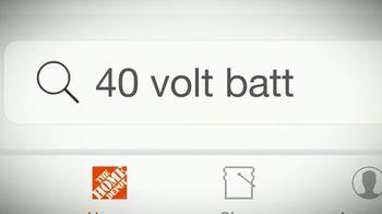 The Home Depot TV Spot, 'Latest Innovations: RYOBI' - Thumbnail 6