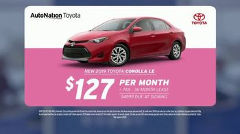 AutoNation Super Zero Event TV Spot, '2019 Toyota Corolla LE' - Thumbnail 3