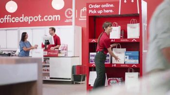 Office Depot TV Spot, 'For the Team: 20 Percent Off Coupon' - Thumbnail 1