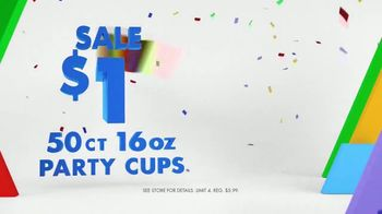 Party City TV Spot, 'Party Cups, Sombreros & Fiesta Tableware' - Thumbnail 3