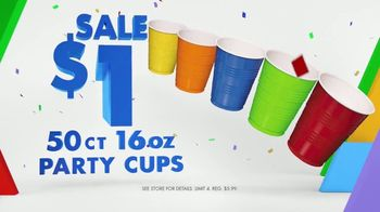 Party City TV Spot, 'Party Cups, Sombreros & Fiesta Tableware' - Thumbnail 4