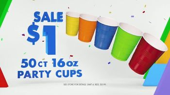 Party City TV Spot, 'Party Cups, Sombreros & Fiesta Tableware' - Thumbnail 5