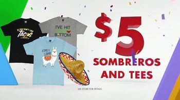 Party City TV Spot, 'Party Cups, Sombreros & Fiesta Tableware' - Thumbnail 7