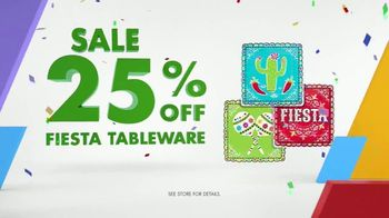 Party City TV Spot, 'Party Cups, Sombreros & Fiesta Tableware' - Thumbnail 8