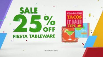 Party City TV Spot, 'Party Cups, Sombreros & Fiesta Tableware' - Thumbnail 9