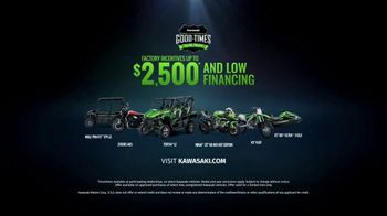 Kawasaki Good Times Sales Event TV Spot, 'Good Times' Featuring Steve Austin, Jonathan Rea - Thumbnail 8