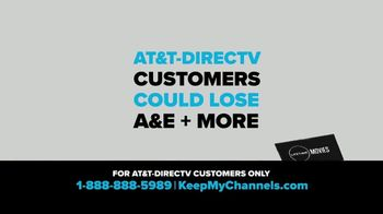 A&E Networks TV Spot, \'Keep My Channels: A&E\'
