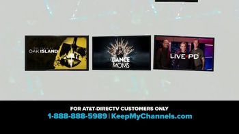 A&E Networks TV Spot, 'Keep My Channels' - Thumbnail 3
