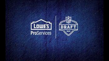 Lowe's ProServices TV Spot, '2019 NFL Draft' - Thumbnail 10