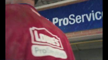 Lowe's ProServices TV Spot, '2019 NFL Draft' - Thumbnail 9