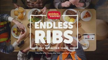 Golden Corral Endless Ribs TV Spot, 'Salad Bar'