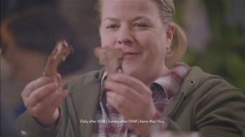 Golden Corral Endless Ribs TV Spot, 'Salad Bar' - Thumbnail 5
