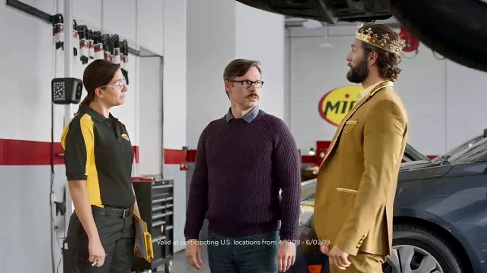 Meineke Oil Change >> Midas TV Commercial, 'King for a Day: Tire Rotation With ...