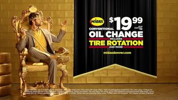 Midas TV Spot, 'King for a Day: Tire Rotation With an Oil Change' - Thumbnail 10