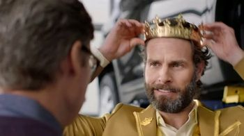 Midas TV Spot, 'King for a Day: Tire Rotation With an Oil Change' - Thumbnail 4