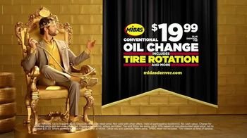 Midas TV Spot, 'King for a Day: Tire Rotation With an Oil Change' - Thumbnail 9