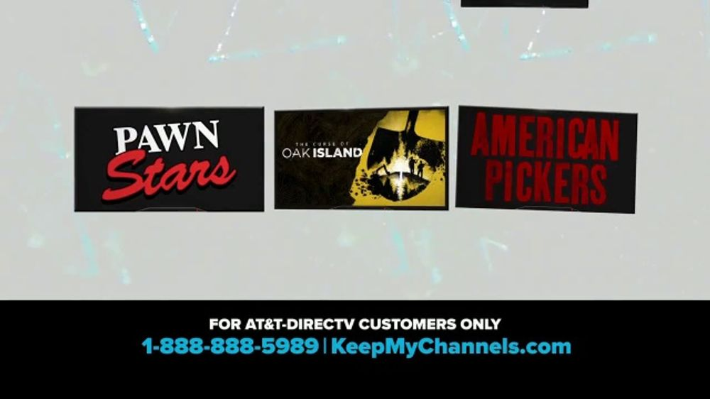 A&E Networks TV Commercial, 'Keep My Channels: History Channel' - Video