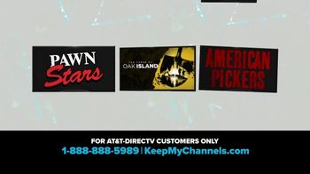 A&E Networks TV Spot, 'Keep My Channels: History Channel'