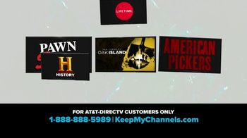 A&E Networks TV Spot, 'Keep My Channels: History Channel' - Thumbnail 3